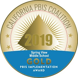 California PBIS Coalistion Gold Implementation Award